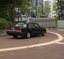 cab in Japan