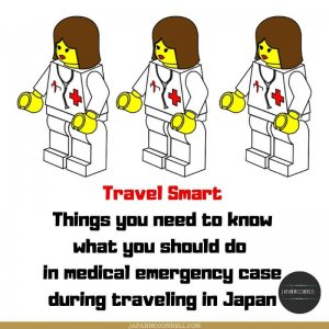 things you need to know what you should do in medical emergency case during traveling in Japan