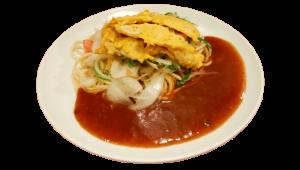 Ankake spaghetti, Nagoya, Japanese food, Nagoya meshi