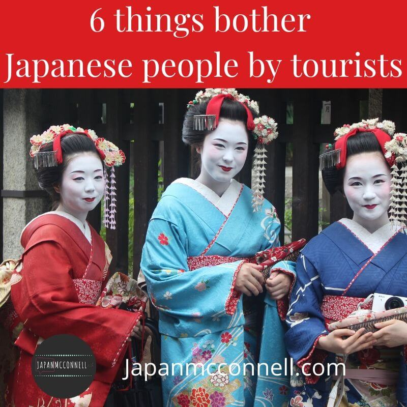6 things bother Japanese people by overseas visitors