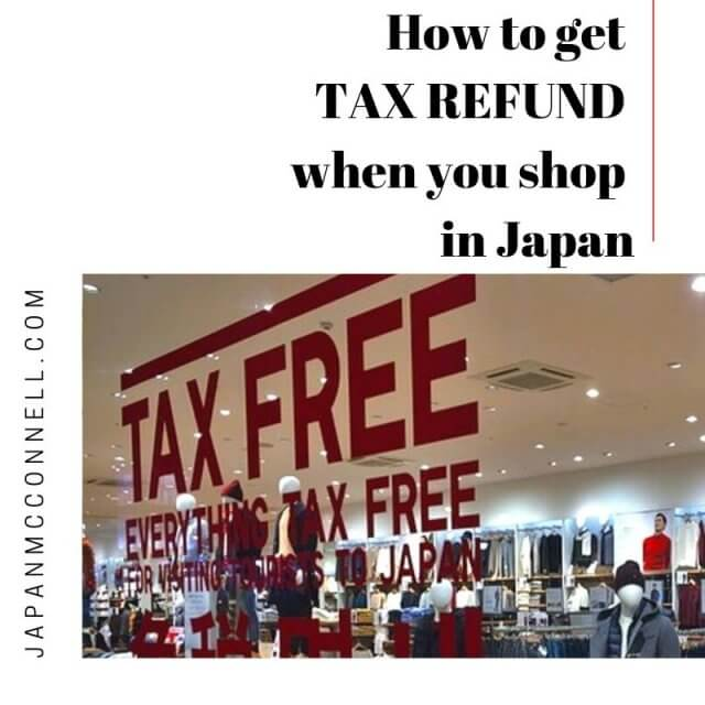 How to get TAX REFUND when you shop in Japan