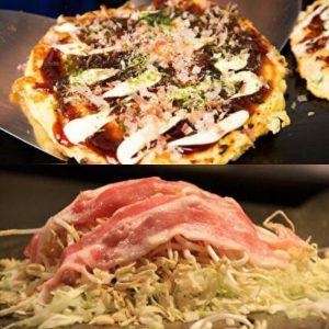 Okonomiyaki, Kansai VS Hiroshima, Japanese food