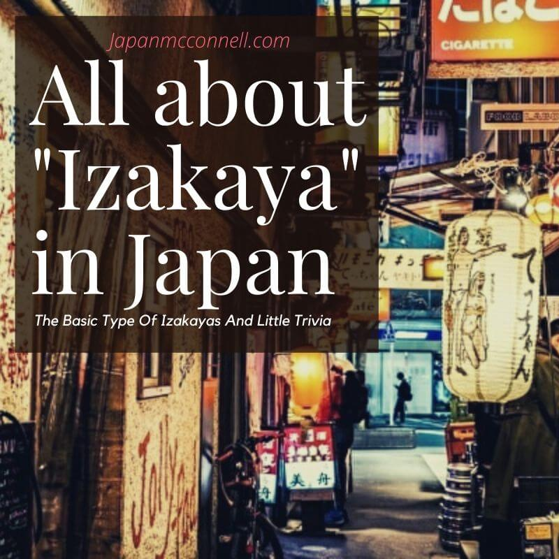 all about izakaya in japan