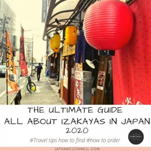 all about izakayas in Japan, 2020