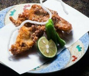deep fried blowfish