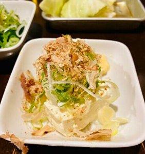 hiyayakko, tofu