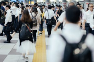 shinagawa crowded