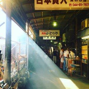 standing bar in Japan