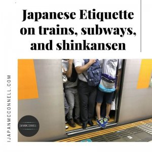 Japanese Etiquette on trains, subways and shinkansen (1)