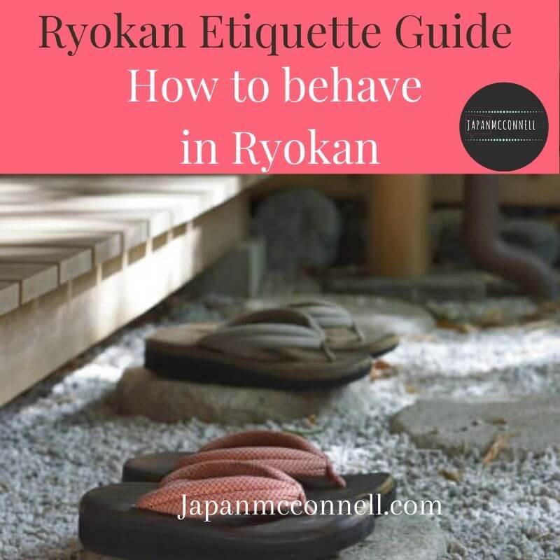 Ryokan etiquettes