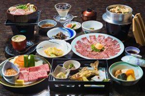 ryokan, kaiseki, dinner