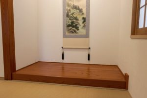 tokonoma, alcove, ryokan, japan