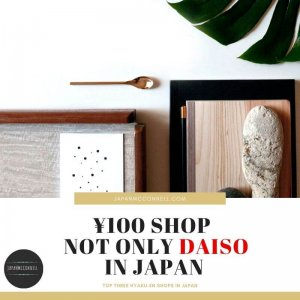Hyakuen shops is not only DAISO in Japan
