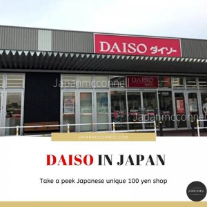 DAISO in JAPAN take a peek unique 100 yen shop