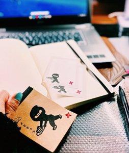 seria, notepad, ninja, my room, 100 yen shop, japan