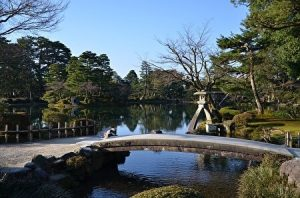Kanazawa, Kenrokuen, Japanese garden, Ishikawa