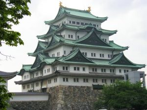 Nagoya castle, castle tower, Nagoya, Japan
