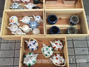Osu Shopping street, Japanese Tea pots, Nagoya, Japan (1)