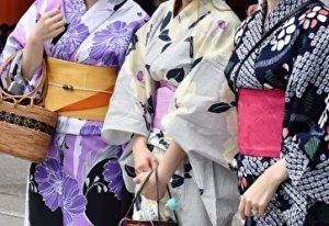 Yukata summer festival