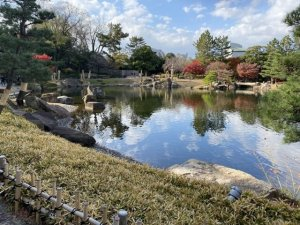 tokugawaen Japanese garden