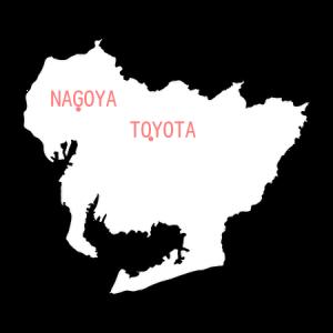 aichi nagoya toyota map