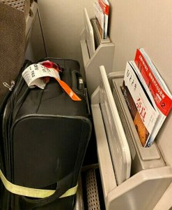 shinkansen luggage space