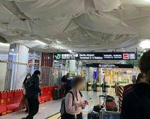 ticket gate at narita airport terminal 2