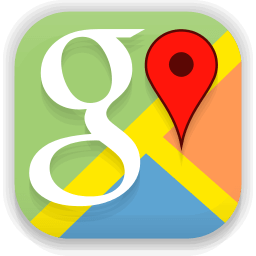 google map, icon, logo