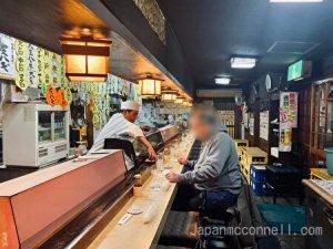 maruhachi sushi, nagoya, japan