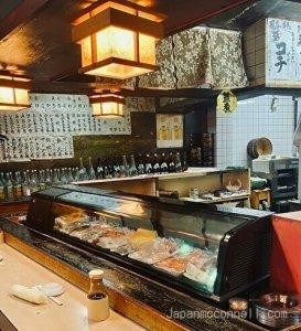 maruhachi sushi, yanagibashi, sushi restaurant, nagoya
