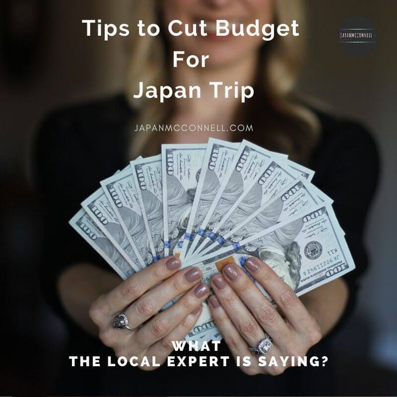 tips to cut budget for japan trip