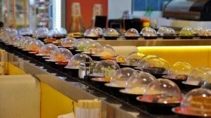 top 5 sushi chain restaurant, japan
