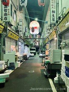 yanagibashi fish market, nagoya, japan