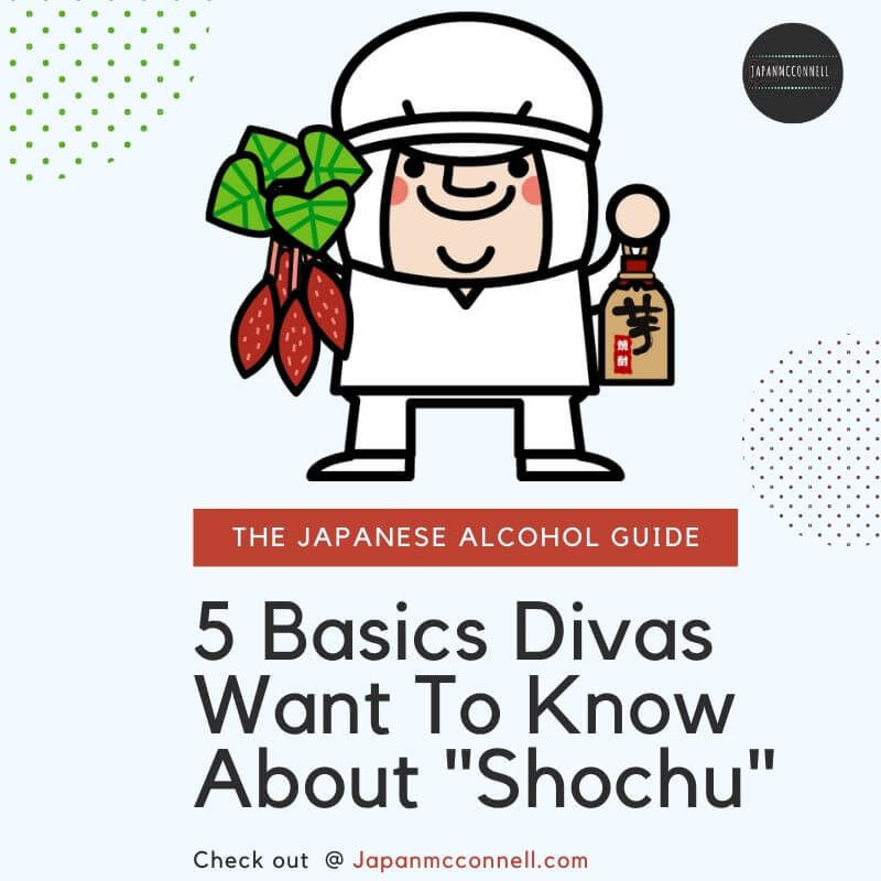 5 basics divas want to know about shochu