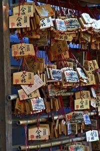 Ema, the wooden wishing plaque, Shrines and temples, Japan