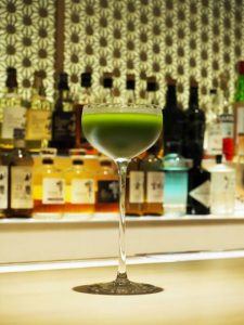 Japanese green tea cocktail, Matcha cocktail, bar, cocktail, alcohol drink