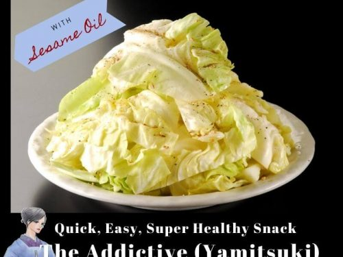 Only 3 Step Quick Easy Super Healthy Snack With Sesame Oil