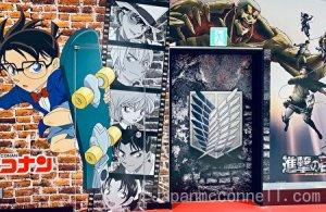 case closed, wall picture, narita anime road