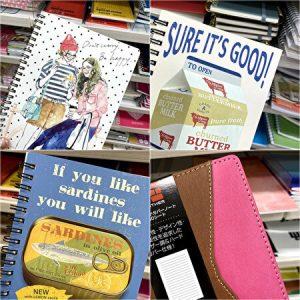 notebook, 100 yen shop
