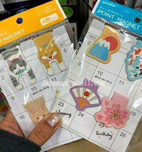 paper clip, magnet, animal, 100 yen shop