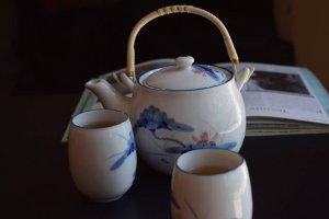sencya, japanese green tea