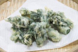 taranome, tempura, japan