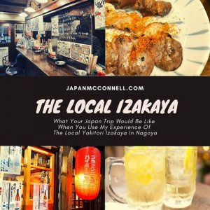 what your japan trip would be like when you use my experience in the local yakitori izakaya in nagoya