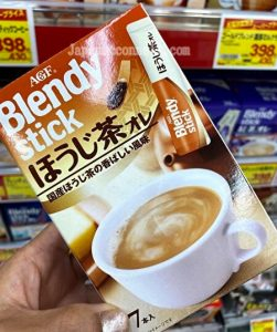 Blendy stick Houjicya, drink mix, Japan