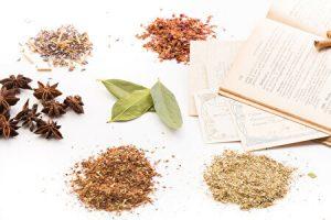 crude drugs, herbs, old books