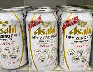 Asahi, Dry Zero Free, Alcohol Free