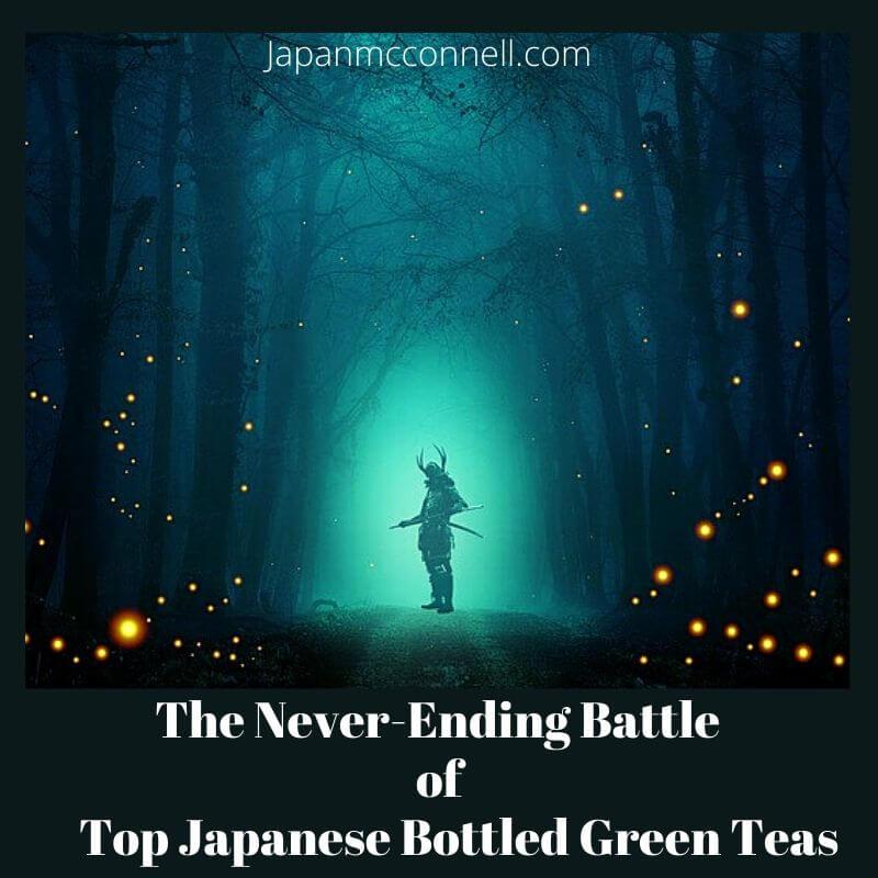 Japanese green tea battle