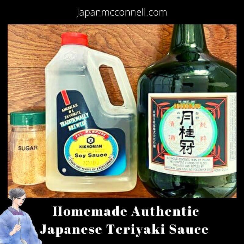 Homemade authentic Japanese Teriyaki sauce