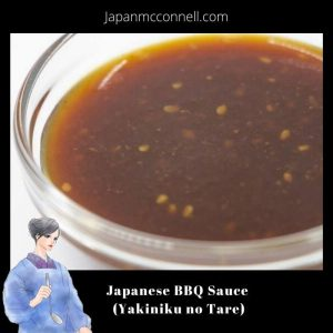 Japanese BBQ sauce, Yakiniku no Tare, recipe