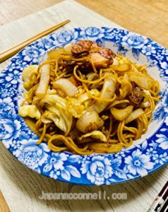 Japanese Yakisoba Noodles, Authentic, Japanese food, noodles, sauce